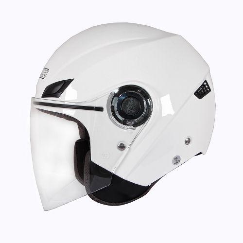 Шлем открытый INFLAME PATRIOT моно, белый